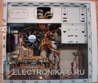 Компьютер Intel 3200 MHz S-775 внутри